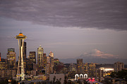 Seattle Skyline Art - Seattle Skyline by Timothy Johnson