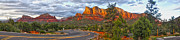 Sedona Arizona Panorama Print by Gregory Dyer