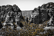 Sedona Prints - Sedona Rock Formations Print by David Patterson