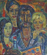 Ivan Filichev - Self-portrait Family