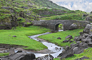 Jane Mcilroy Art - Serpent River Bridge Dunloe by Jane McIlroy