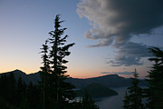 Crater Lake Sunset Photos - Setting by Calley Duvall