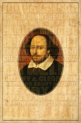 Romeo And Juliet Prints - Shakespeare 3 Print by Andrew Fare