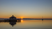 Shallowbag Bay Framed Prints - Shallowbag Bay Sunrise Framed Print by Gregg Southard
