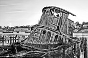 Earth Tones Metal Prints - Shipwrecked  Metal Print by JC Findley