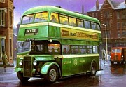 Bus Originals - SHMD Daimler by Mike  Jeffries