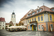 National Past Time Photos - Sibiu City Romania by Daniel Barbalata