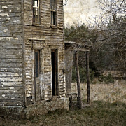 Dilapidated House Photos - Side Porch by John Stephens