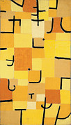 Paul Klee - Signs In Yellow by Paul Klee
