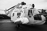 Manhaten Prints - Sikorsky HH 52 hh52 Sea Guardian helicopter on display Print by Joe Fox