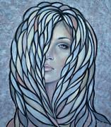 Silver Nymph 021109 Print by Selena Boron