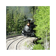 Most Photo Posters - Silverton-Durango Steam Engine Poster by Jack Pumphrey