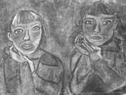 Sisters Print by Khristin Kelly