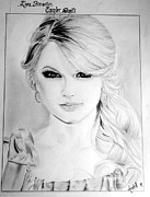 Taylor Swift Art - Sketch Art by Aanchal  Verma