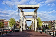 Skinny Prints - Skinny Bridge in Amsterdam Print by Artur Bogacki