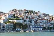 Skopelos Metal Prints - Skopelos island Metal Print by David Fowler