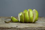 Pear Art Posters - Sliced Poster by Nailia Schwarz