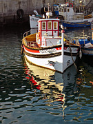Wooden Boat Photos - Small traditional trawler by Jose Elias - Sofia Pereira