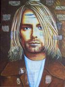 Kurt Cobain Art - Smells like... by Stephen Rea