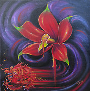 Fantastic-surreal Originals - Snap Dragon by Susi Galloway