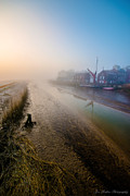 Snape Prints - Snape Maltings Print by Jon Medlow