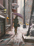 Chin H  Shin - Snow Day in Lexington Ave