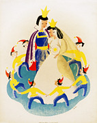 Dwarves Posters - Snow White and the Seven Dwarfs Poster by Nomad Art And  Design