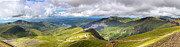 Panoramic Posters - Snowdonia Poster by Jane Rix