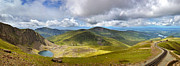 Panoramic Art - Snowdonia panorama by Jane Rix