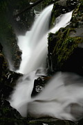 Nature Photos - Sol Duc Falls at Olympic National Park by Jetson Nguyen