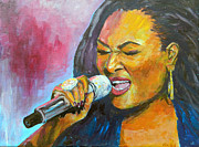 Singer Painting Originals - Soul by William Reed