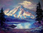 Serenity Landscapes Paintings - South By Southwest  by Shasta Eone
