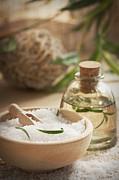 Mythja  Photography - Spa setting with bath salt and soap