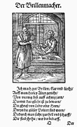 Tool Maker Framed Prints - Spectacle Maker, 1568 Framed Print by Granger