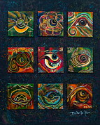 Healing Art Paintings - Spirit Eye Collection Ii by Deborha Kerr