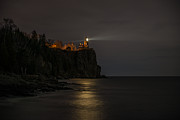 Northern Minnesota Prints - Split Rock Light II Print by Shane Mossman