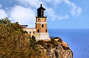 Tor Photo Posters - Split Rock Lighthouse Poster by Kristin Elmquist