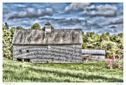 Spring Barn Print by Richard Bean