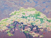Woodcut Paintings - Springtime by Pg Reproductions
