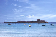 St Photos - St Aubins Fort - Jersey by Joana Kruse
