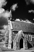 Small Village Framed Prints - St Johns St John the Apostle Church Ardamine church near courtown church of ireland Framed Print by Joe Fox