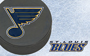 Hockey Art - St Louis Blues by Joe Hamilton