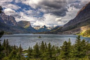 St. Mary's Lake Print by Andrew Soundarajan