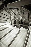 Stair Case Posters - Staircase Poster by Tom Gowanlock