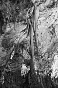Historic Photos Art - Stalactites and Stalagmites by Melany Sarafis