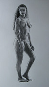 James Gallagher - Standing Female Nude