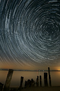 Startrails Photos - Star Trails 1 by Benjamin Reed