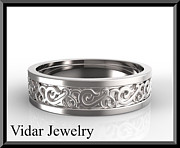 Roi Avidar - Statement 14k White Gold...