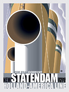 Vector Prints - Statendam Print by Gary Grayson