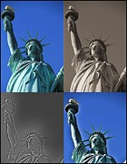 The Tourist Trade Posters - Statue Of Liberty Poster by Dan Sproul